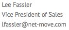 Lee Fassler Vice President of Sales